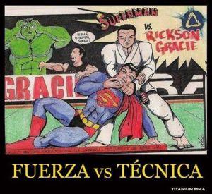 Strength vs. Technique