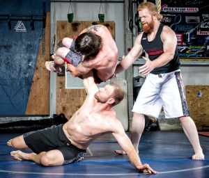 BJJ Purple Belt Author of Warrior Core Degree in Human Performance Certified Strength and Conditioning Specialist Certified MMA Conditioning Coach Licensed Sports Massage Therapist